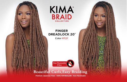 """Harlem125 Kima Braid Finger Dreadlock 20"""""""