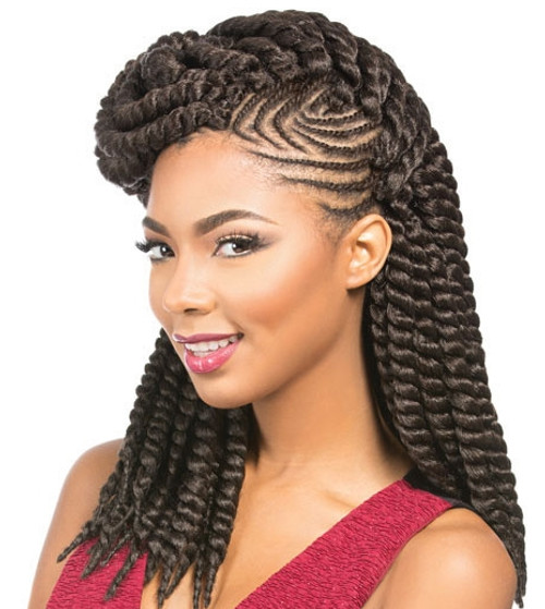 Sensationnel Synthetic Braid Rumba Twist Braid 12""