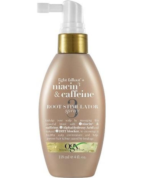 OGX Anti-Hair Fallout Root Stimulator Spray with Niacin & Caffeine- 4oz