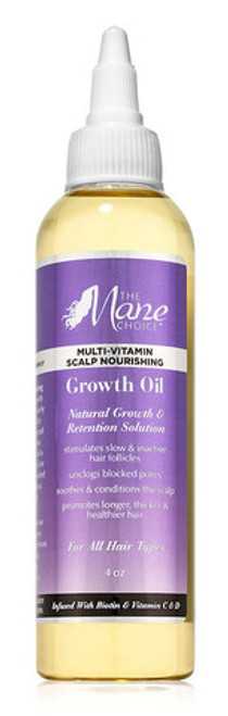 The Mane Choice Multi-Vitamin Scalp Nourishing Hair Growth Oil- 4oz