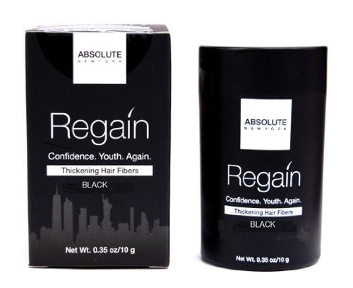 Absolute New York Regain Thickening Hair Fibers BLACK- 23g