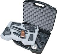 MTM Case-Gard 811 Series Four Pistol Case - Black - 026057308401