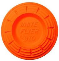 White Flyer Orange Top Targets - 135 Targets - 042859111018