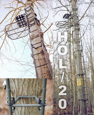 Family Traditions Treestands Lock-On Ladder Sections - 20' - 400001292730