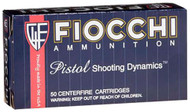 Fiocchi Subsonic 9MM - 158 Grain FMJ - 50 Rounds - 762344001913