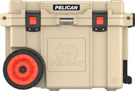 Pelican Elite Wheeled Coolers - 45 Quart - 825494065867