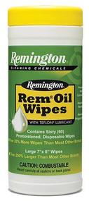 Remington Rem Oil Pop-Up Wipes - 60 Count - 047700183848