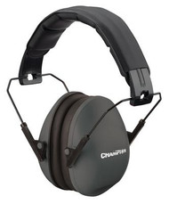 Champion Slim Passive Ear Muff 21dB Noise Reduction Black - 076683409713