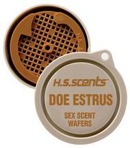 Hunter Specialties Primetime Doe Estrus Scent Wafers 3 Per Pack - 021291010011