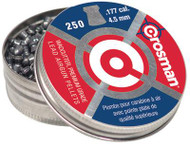 Crosman Wadcutter Pellets .177 Caliber 250 Per Package 12 Packages per Case - 028478617704