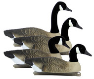Higdon Full Size Floater Canada Goose Decoys - 4 Pack - 710617771278