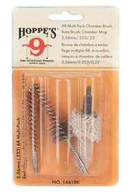 Hoppe's 3 Pack Bore Brush/Chamber Brush/Chamber Mop 5.56mm/.223 Remington - 026285014617