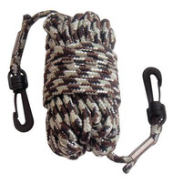 Primos Pull-Up Nylon Rope With Snap Hooks At Both Ends 30 Feet Camouflage - 010135065331