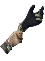 Primos Stretch Fit Gloves with Sure Grip - Mossy Oak Break Up - 010135063962