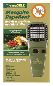 Thermacell Mosquito Repellent Unit with On/Off Turn Dial Olive Green - 181752000712