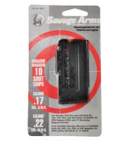 Savage Magazine for 93 Series Magnum .22 Winchester Magnum Rimfire/.17 HMR 10 Round Blue - 062654900105