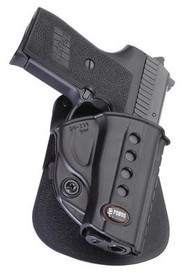 Fobus Evolution 2 Series Paddle Holster For Ruger SR45/P94/95/97 With or Without Rails/Hi-Point 45 Black Right Hand - 676315006817