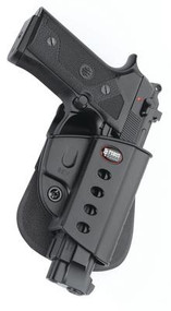 Fobus Evolution 2 Series Paddle Holster for Beretta Vertec/Taurus 92/99 With Rail Black Right Hand - 676315006848