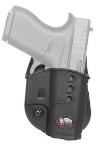 Fobus Evolution 2 Series Paddle Holster For Glock 43 Black Right Hand - 676315034445