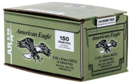 Federal American Eagle Lake City 5.56mm NATO 62 Grain Full Metal Jacket Steel Core 150 Rounds Bulk Pack In Corrugated Box - 029465065164