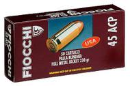 Fiocchi 7.62x25 Tokarev - 85 Grain FMJ - 50 Rounds - 762344042626