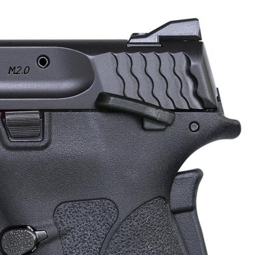 Smith & Wesson M&P 380 Shield EZ 380 ACP - Thumb Safety - Black - 8 Round - 022188869743