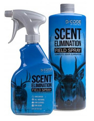 Code Blue D/Code 12oz Unscented Field Spray with 32oz Refill - 707114013116