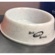 Ruff Tough Kennels Dog Bowl - Medium - Whitestone - 811205030309