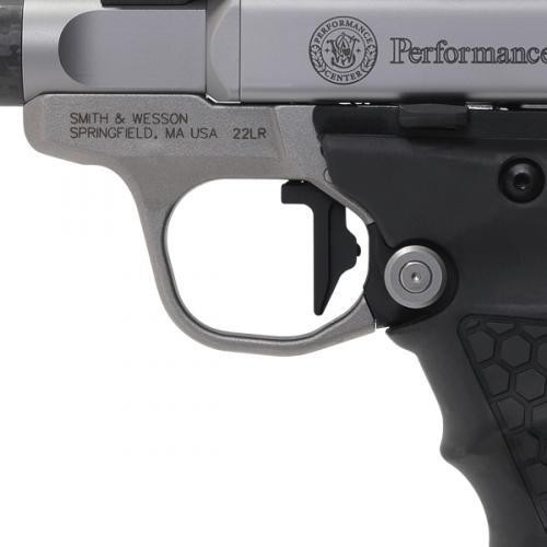 Smith & Wesson Victory Peformance Center 22 LR - Carbon Fiber Barrel - Vortex Viper Red Dot - Tandemkross Grips - 10 Round - 022188875553