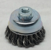 Lessmann Cup Brush, Twist Knot