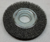 Wire Brush Wheel for Bench Grinder, 150mm