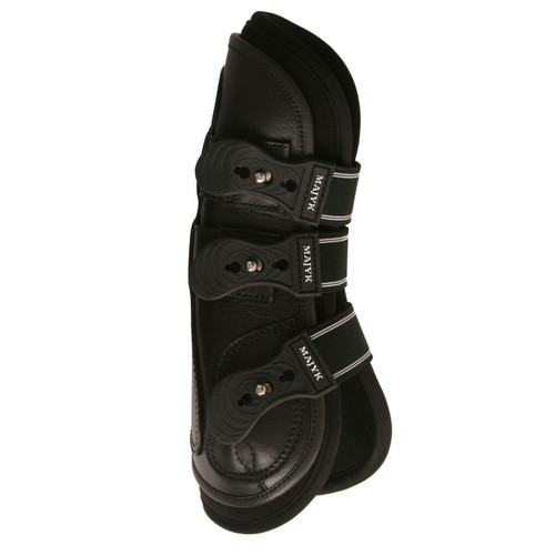 Majyk Boyd Martin 100% Leather Open Front Tendon Boots with Removable Liner
