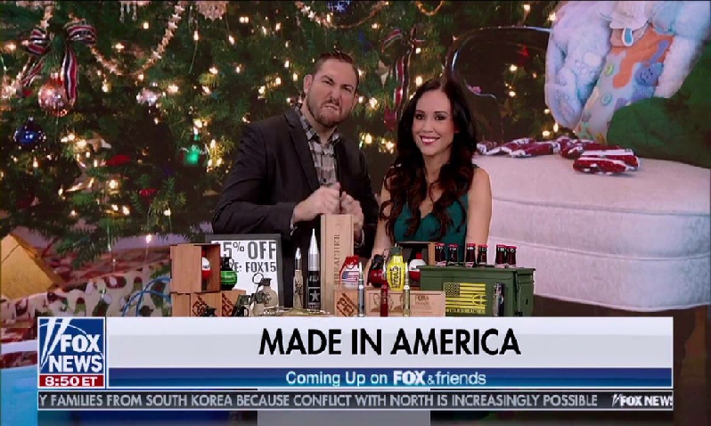 Bottle Breacher on Fox & Friends