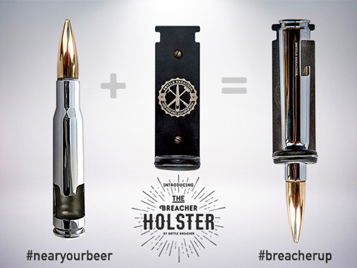 Bottle Breacher + Holster = Easy access to your Breacher!