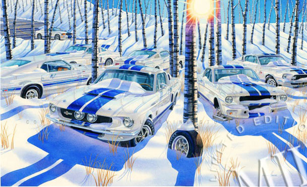 Pure As The Driven Snow By Michael Irvine Studios Print