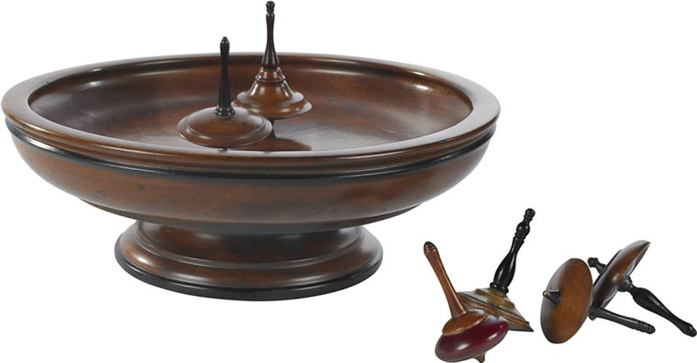 Authentic Models Spinning Tops and Board