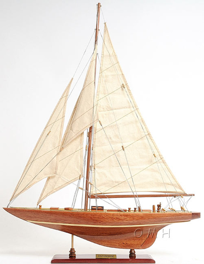Enterprise Small Version Racing Yacht