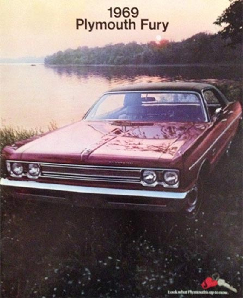 1969 Plymouth Fury 30-Page Color Catalog