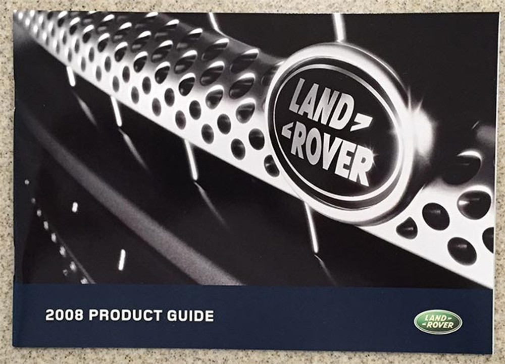 2008 Land Rover Product Guide