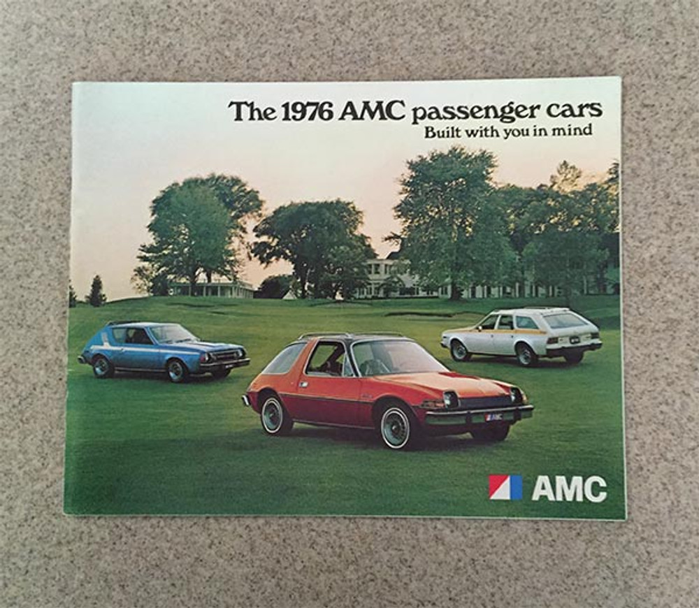 1976 AMC Passenger Cars Original Brochure