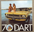 1970 Dodge Dart Color Sales Brochure