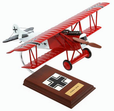 Fokker D.VII (D7) 1/20 Model Airplane