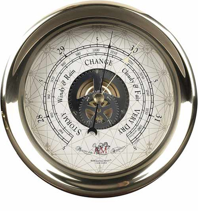 Authentic Models Captain's Barometer