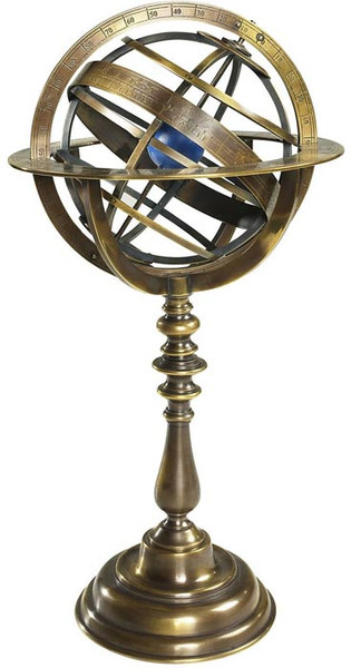 Authentic Models Bronze Armillary Dial