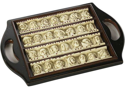 Dutch Renaissance Domino Game-Authentic Models