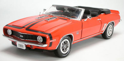 1969 Chevrolet Camaro SS 396 Convertible Orange