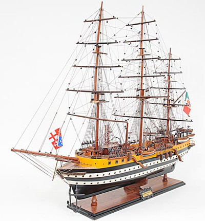 Amerigo Vespucci Painted Ship
