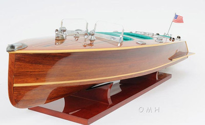 Chris-Craft Triple Cockpit Speedboat Model B040