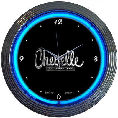 Neonetics Chevelle Neon Clock
