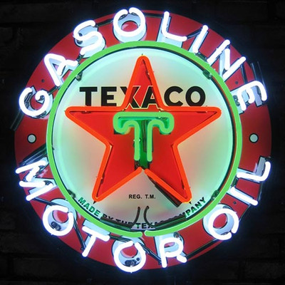 Neonetics Texaco Gasoline Neon Sign